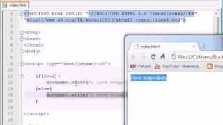 Beginner JavaScript Tutorial - 15 - if/else Statement