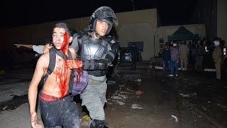 getlinkyoutube.com-مشاهد صادمة من محاولة الهروب من سجن عكاشة المغرب (كوماندو و رصاص)