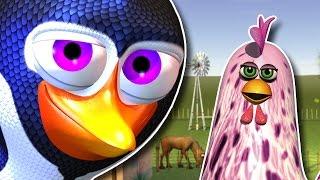 getlinkyoutube.com-El Pingüino y la Gallina - Las Canciones de la Granja de Zenón 3