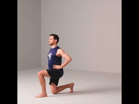 Knieübungen - Wechselausfallschritt
