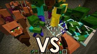 getlinkyoutube.com-Zombies Vs Villagers Minecraft   Ciudad Polinesia Episodio #1   Juxiis