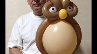 getlinkyoutube.com-#0126 梟 a balloon owl