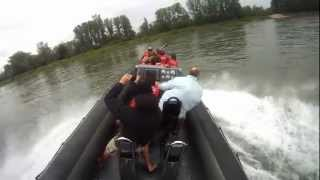 getlinkyoutube.com-Speedboot 120 km/h (600 PS RIB Boot)
