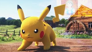 getlinkyoutube.com-Pokken Tournament: Pikachu vs. Pikachu Libre