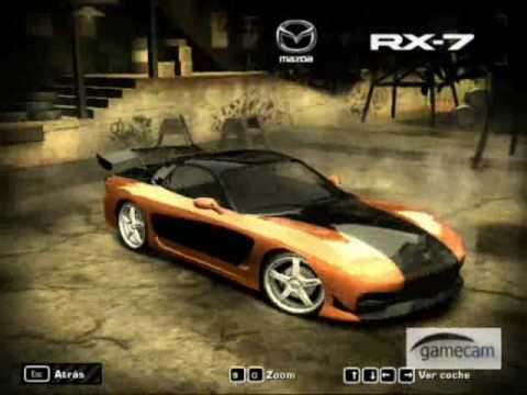 coches rapido y furioso en nfs most wanted