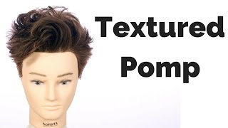 getlinkyoutube.com-TEXTURED POMP - TheSalonGuy