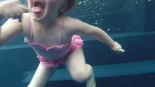 getlinkyoutube.com-GoPro Hero 3+ UnderWater Test crazy girl & boys Funny slow motion
