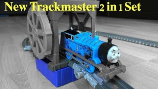 getlinkyoutube.com-New Thomas and Friends Trackmaster Toy Trains Play Set  Disney Cars McQueen