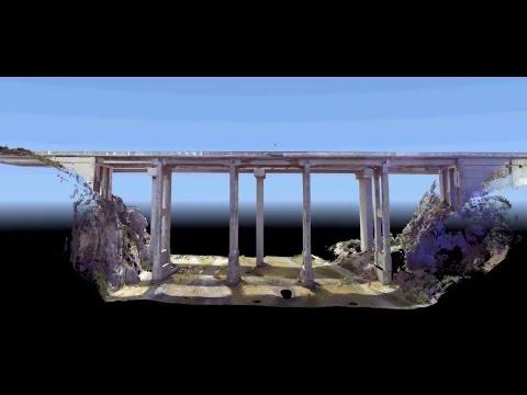 Maqueta 3D Puente Quilimari