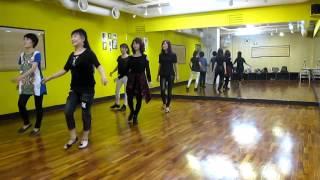 getlinkyoutube.com-Gatta Lot of Rhythm (by Leif Wittorff) - Line Dance (Demo & Walk Thru)