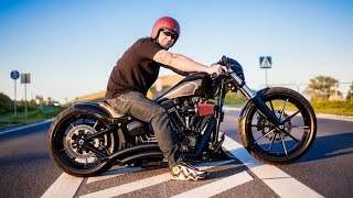 getlinkyoutube.com-Harley Davidson Breakout Softail Custom