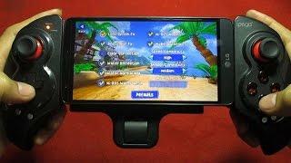 LG G3 Stylus Test Gaming Beach Buggy Racing with Ipega 9023