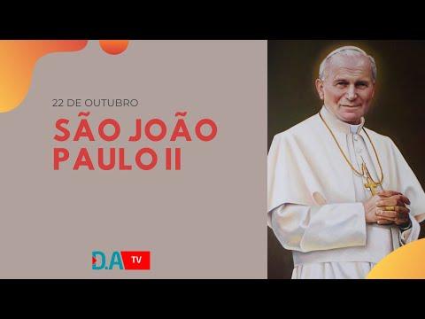 Santo do dia - São João Paulo II