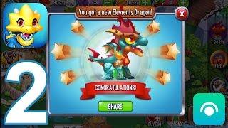 getlinkyoutube.com-Dragon City - Gameplay Walkthrough Part 2 - Level 6-9 (iOS, Android)