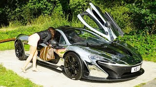 getlinkyoutube.com-McLaren P1 GOLD DIGGER PRANK!