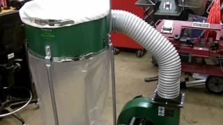 getlinkyoutube.com-Harbor Freight 2HP Dust Collector Review