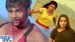 getlinkyoutube.com-Fight Scene of Pawan Singh || Suhaag || Action Scene from Bhojpuri Movie || Monalisa