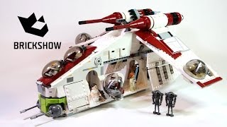 getlinkyoutube.com-Lego Star Wars 75021 Republic Gunship Build & Review