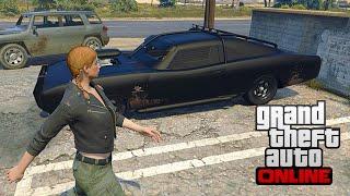 getlinkyoutube.com-GTA 5 PC - Duke of Death Online Spawn Location - Rare Car Online