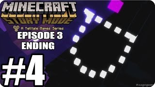Minecraft Story Mode Episode 3 - ENDING - Gameplay Walkthrough Part 4 [ HD ] - No Commentary