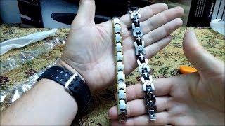 getlinkyoutube.com-Мужские браслеты Aliexpress