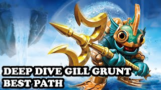 getlinkyoutube.com-Skylanders Superchargers - Deep Dive Gill Grunt - Torrent Tamer Path - BEST PATH - GAMEPLAY
