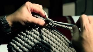 Tutorial: Realizzate la vostra borsa in fettuccia / Réaliser votre sac à main avec le ruban