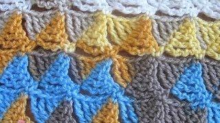 getlinkyoutube.com-Wedge Stitch - Crochet Stitch Tutorial