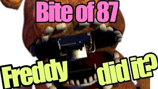 getlinkyoutube.com-Freddy is the only one who can cause the bite of 87? (five nights at freddy's theory)