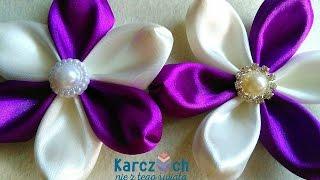 getlinkyoutube.com-Kanzashi #23 - Transformer petal