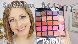 getlinkyoutube.com-Smashbox Be Legendary Matte Lipstick Palette - All Colors Swatched!