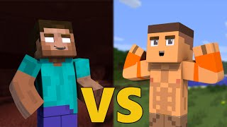 getlinkyoutube.com-Herobrine VS John Cena - Minecraft