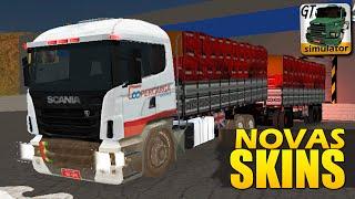 Grand Truck Simulator - Caminhão e Reboque com SKINS novas