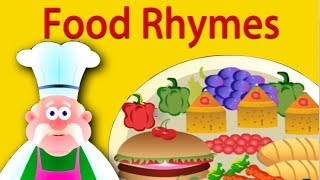 Food Rhymes Collection | Nursery Rhymes For Children