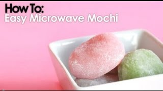 getlinkyoutube.com-Microwave Mochi In Less Than 10 Minutes