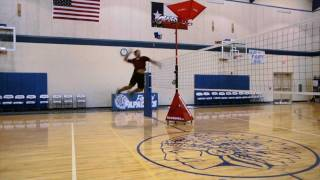How to Spike a Volleyball (in Slow Motion)