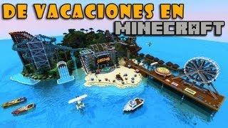 getlinkyoutube.com-De Vacaciones en Minecraft 1.8 - Olann Island (Descarga Mapa)