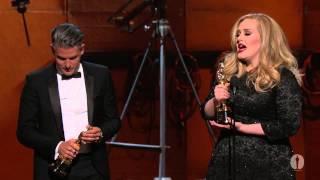 """getlinkyoutube.com-""""Skyfall"""" Wins Original Song: 2013 Oscars"""