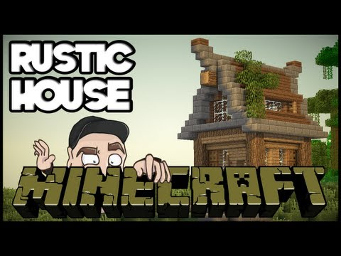 Minecraft Lets Build: Basic Rustic House