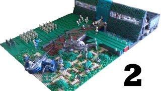 Huge Lego Star Wars Waterfall Base on Kashyyyk #2