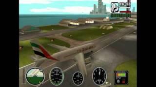 getlinkyoutube.com-Emirates flight from San Andreas to Vice City