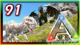 getlinkyoutube.com-ARK: Survival Evolved - ALBINO GIGANOTOSAURUS / INDOMINUS REX? - S2E91 ( Modded Gameplay )