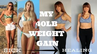 getlinkyoutube.com-I'VE GAINED 40LBS //HOW TO DEAL WITH WEIGHT GAIN// EATING DISORDER RECOVERY