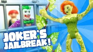 getlinkyoutube.com-Batman Toys Adventures: Joker's JailBreak with Imaginext Batman Toys Full Episodes by KidCity
