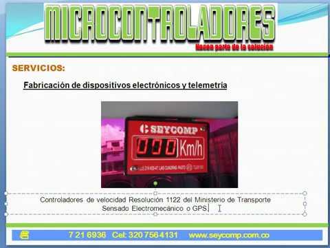Aplicaciones de los microcontroladores