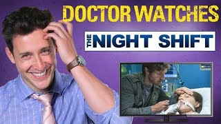 Real Doctor Reacts to THE NIGHT SHIFT | Medical Drama Review | Doctor Mike width=