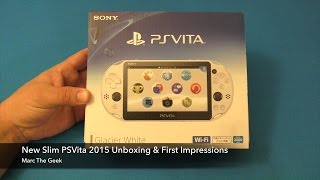 getlinkyoutube.com-New Slim PSVita 2015 Unboxing & First Impressions