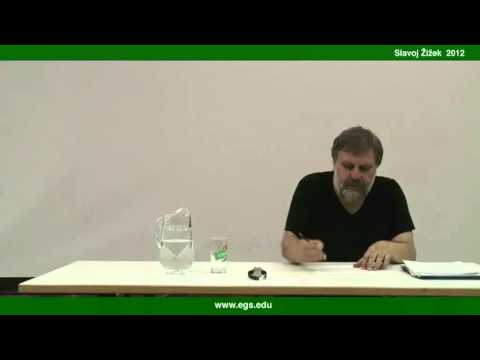 Slavoj Žižek. On Melancholy. 2012