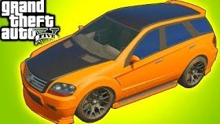 getlinkyoutube.com-GTA 5 Online Tips: Street Racer SUV! Mod Spotlight Benefactor Serrano (GTA V)