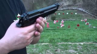 getlinkyoutube.com-Beretta 92A1, Pistola Semiautomática, en Español